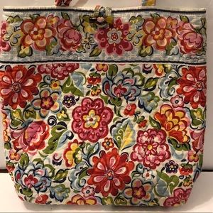 Vera Bradley NWOT Exclusive Tote Bag Toggleclosure